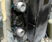 Smart Meters Catch Fire - Safety