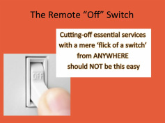 Demand Response with Remote Off Switch