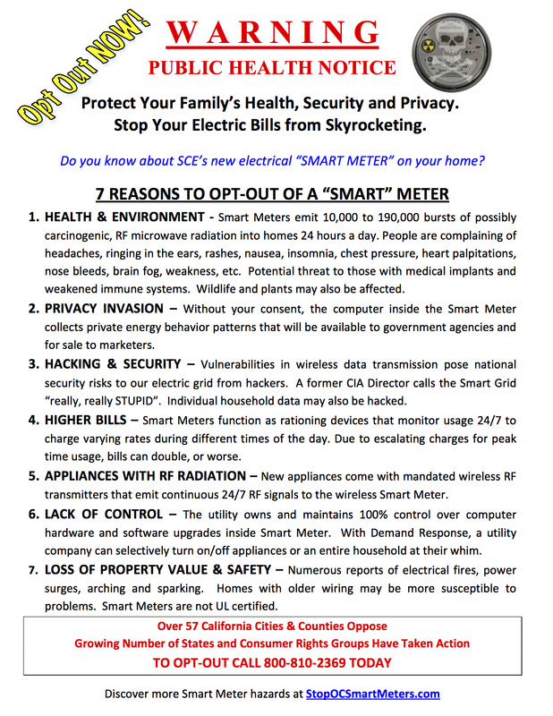 7 Reasons to Opt Out of a Smart Meter