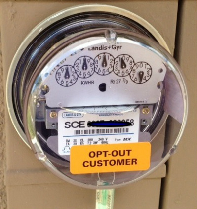 Opt Out Analog Meter